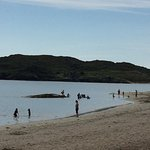 Chillen am Strand zum Tagesausklang