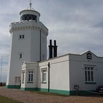 The lighthouse upon which the Tea Room is situated in