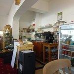Inside Angel Corner tea rooms