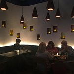 Ambient lighting conducive for conversation