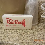 A bag of Red Roof tissue