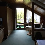 Attic forest-view room