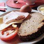 Self-service breakfast at G/F