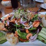 my sea food salad