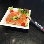 Chirashi salmon s