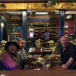 Ronda and Captain Al take me to the Blue Macaw for a fun dinner.