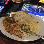 Chicken Fied Steak and Eggs