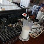 Máquinas de café del comedor