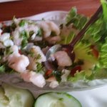 Absolutely delicious ceviche