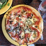 Margherita with Mushrooms Pizza