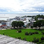Picture of Downtown from Fort Mackinac