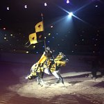 We cheered for the yellow knight, were smitten with the blue knight, and my daughter was knighte