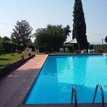 La splendida piscina