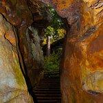 Rock formations & boardwalk