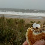 Sausage, Egg & Cheese Breakfast Sammie with Heavy Surf