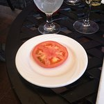 Manor Tavern organically grown tomato, looked even worse in person
