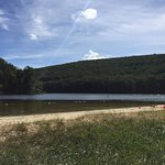 Catoctin Mountain Park and Cunningham Falls - Lake beach - a 5 minute drive from the Resort