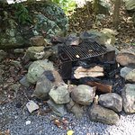 Fire pit at the Sparrows Point cabinette