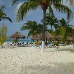 Beautiful, wide, soft sandy beach