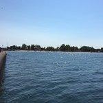 Sodus Point Beach Park -view of the bay