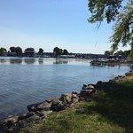 Sodus Point Beach Park - more waterfront shot