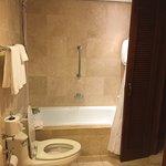 Nice, large bathroom. Very clean