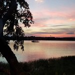 Sunset on Skull creek