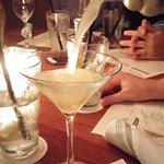 Mayer lemonade martini
