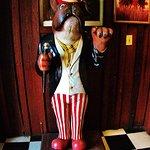 The Saloon door greeter