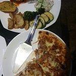 Tasty tasty pizza and secondi