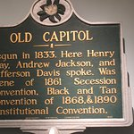 Plaque - Old Capitol in Jackson, Mississippi