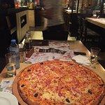 Family pizza ....so delicious!!!!
