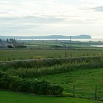 The view towards Mey Castle and Dunnet Head
