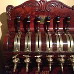 Old beer taps