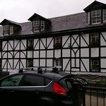 The beautiful tudor frontage