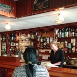 Lovely bar with a chatty helpful waitress