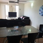 Older style but clean, comfortable and well furnished