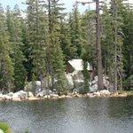Mosquito Lake near the summit