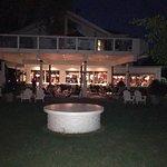 Hedges 9 Mile Point Restaurant - view of back of restaurant