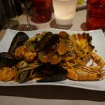 Seafood Pasta - Delicious!