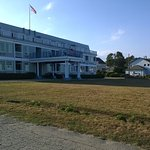Atlantic House Front Lawn