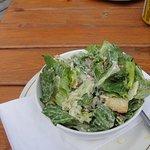 sloppy Caesar salad