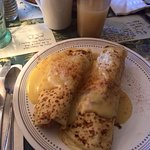 Great lobster crepes