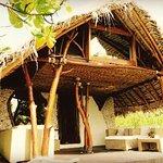 Nuestro bungalow en el Ninamu resort