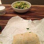 salad and wrap