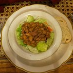 Salad with Basque beans--try it!