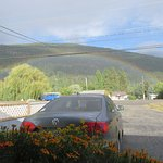 What a great rainbow we saw right outside our suite!