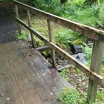 Bridge across the path to town