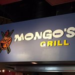 Mongo Grill Sign