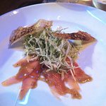 Fennel salad appetizer